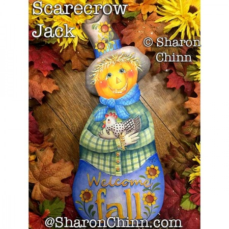 Scarecrow Jack ePattern by Sharon Chinn