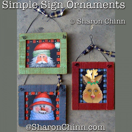 Simple Sign Ornaments ePattern