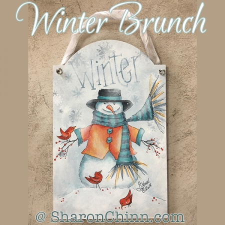 Winter Brunch by Sharon Chinn